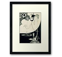 The Climax, illustration from 'Salome' by Oscar Wilde Framed Print