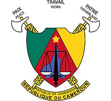 Coat of Arms of Cameroon Photographic Print