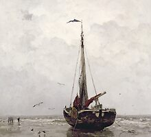 The Fishing Boat by Bridgeman Art Library