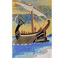 The Ship of Odysseus Photographic Print