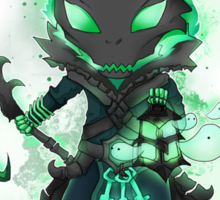 Thresh chibi - come out and play - League of Legends Sticker