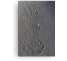 Take Only Photographs, Leave only footprints...  Canvas Print