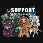 Support or AFK - League of Legends chibi t-shirt by linkitty