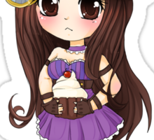 Caitlyn chibi - League of Legends Sticker