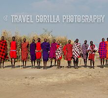 Maasai Tribe by Jessica Henderson