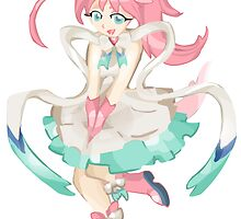 Sylveon - Gijinka by One-Wing
