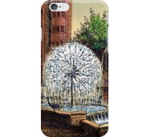 El Alamein Fountain, Kings Cross iPhone Case/Skin
