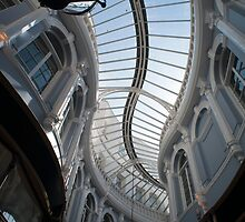 Morgan Arcade , Cardiff, Wales by photoeverywhere