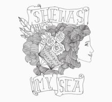 she was my sea. by knapptw