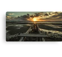 Sun Set Landscape  Canvas Print