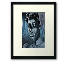 The Haunted Mansion Bride by Topher Adam Framed Print