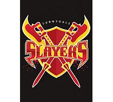 Sunnydale Slayers Photographic Print