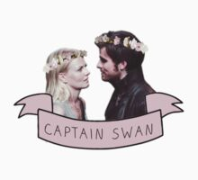 Captain Swan Flower Crown by brookenoelle