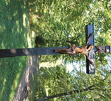 Crucifix with Jesus by stine1