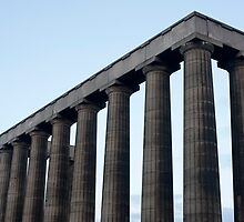 Detail of the National Monument of Scotland by photoeverywhere