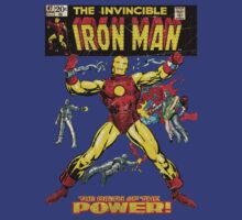 Vintage Invincible Iron Man #47 by realsuperhero