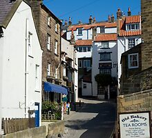 Robin Hoods Bay fishing village by photoeverywhere