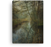 The Lonely River Canvas Print
