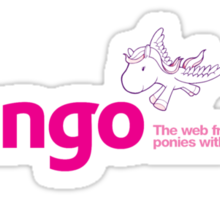 Django Poney Web Framework Sticker