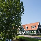 The Idyllic Dutch Village Marken, Near Amsterdam, Holland  by Georgia Mizuleva