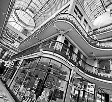 Barton Arcade, Manchester (B&W) by Stephen Knowles