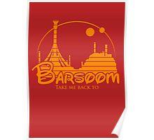 Take me back to Barsoom Poster
