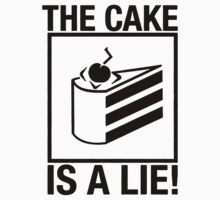 Portal the cake is a Lie by shahidk4u