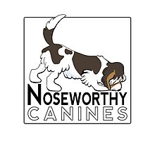 Noseworthy Canines | Logo Design by Off-Leash Art by offleashart