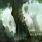 Elven Tree by Henry Castelein