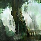 Elven Tree by Henry Castelein