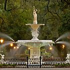 Forsyth Park Fountain by Ellen McKnight