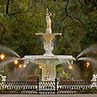 Forsyth Park Fountain by Ellen McKnight