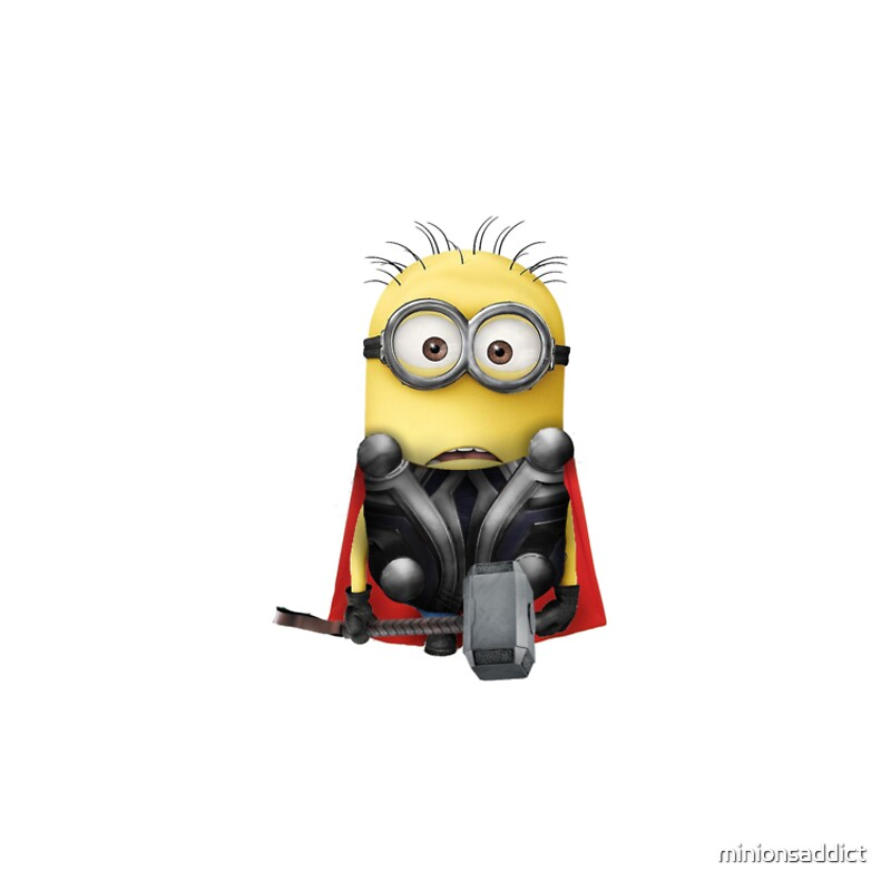 Account Suspended | Redbubble.com: www.redbubble.com/people/minionsaddict/works/11676511-minion-thor?p...