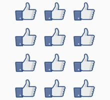Facebook Like Thumbs Up ×12 by bookface