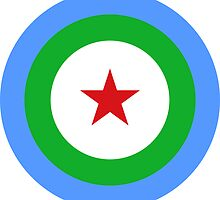 Air Force Roundel of Djibouti  by abbeyz71