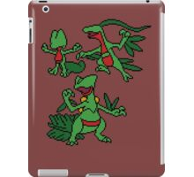 Treecko, Grovyle and Sceptile iPad Case/Skin