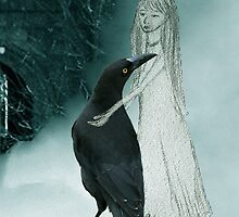 the girl and the raven by Alenka Co