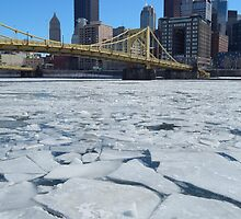 Icy Pittsburgh by gsnorto