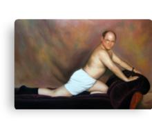 George pose Canvas Print