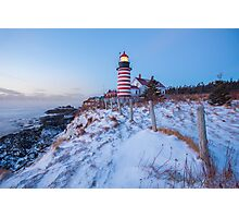Facing East  Photographic Print