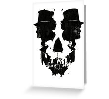 Skull of Jekyll/Hyde Greeting Card