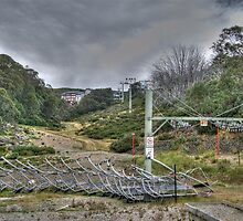 Waiting for Winter, Falls Creek (Victoria) by Adrian Paul