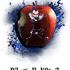 Death Note - Ryuk white by 666hughes