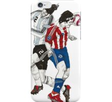 World Cup Soccer - Argentina x Paraguay iPhone Case/Skin