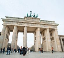 The Brandenburg Gate, Berlin by photoeverywhere