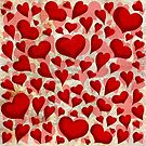 Red Hearts ♥ by Chris Baker