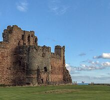 Tantallon Castle, East Lothian. Scotland by Miles Gray