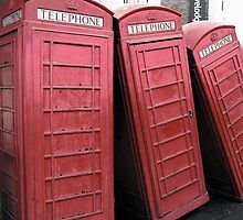 Telephone Box Sculpture, Kingston Upon Thames by Alan Organ