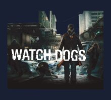 WATCH DOGS 2014  T-SHIRT by liarsclothing