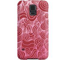 PSYCHOLINES Phone Case- Raspberry/Pink/White Samsung Galaxy Case/Skin
